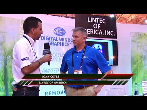 Interview with John Coyle of Lintec at SGIA 2017 New Orleans