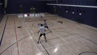 Piranhas Badminton Match tournoi ETS  (McGill)