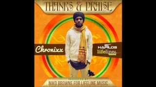 CHRONIXX - THANKS AND PRAISE - SINGLE - LIFELINE MUSIC - 21ST HAPILOS DIGITAL