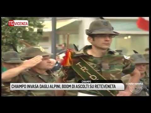 TG VICENZA (18/09/2017) - CHIAMPO INVASA DAGLI ALPINI, BOOM DI ASCOLTI SU RETEVENETA