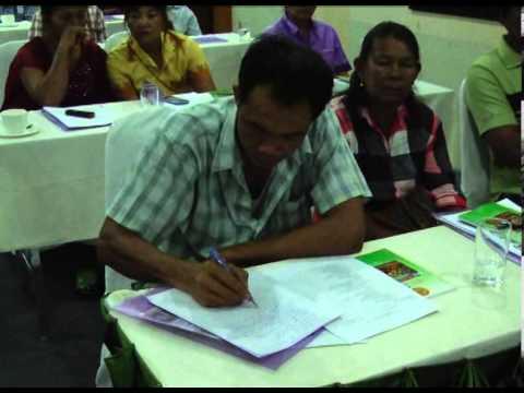 ปราจีนบุรีจัดการประชุมโครงการจัดทำแผนพัฒนาหหมู่บ้านคณะกรรมการหมู่บ้าน