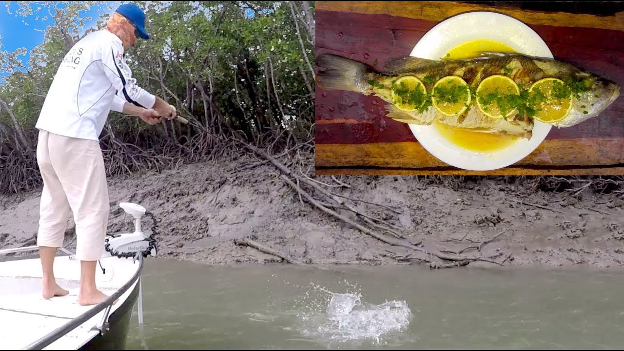 Lost Lure Fishing Challenge & Grunter Cook Up EP.487