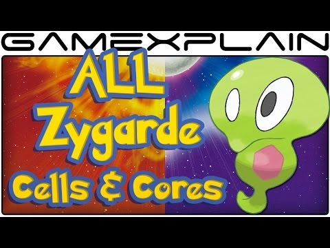 All Zygarde Cell & Core Locations in Pokémon Sun & Moon (100