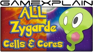All Zygarde Cell & Core Locations in Pokémon Sun & Moon (100% Guide & Walkthrough)
