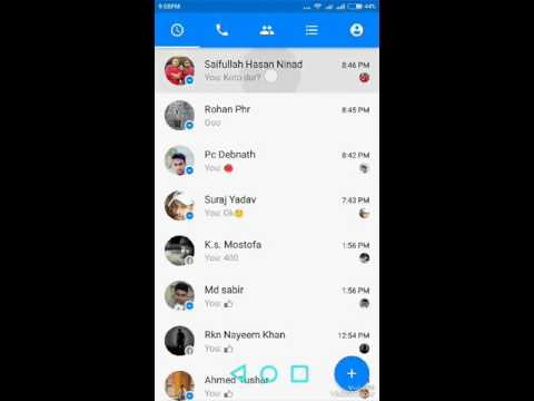How To Enable Messenger Chat Head In Xiaomi Phones(MiUi)