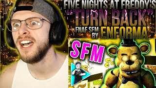 "Vapor Reacts #810 | [FNAF SFM] FNAF SONG OFFICIAL ANIMATION ""Turn Back"" by Enforma REACTION!!"