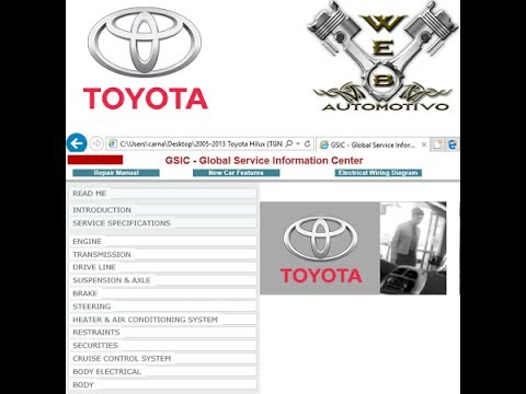 Toyota Hilux 2005 - 2013 Service Manual