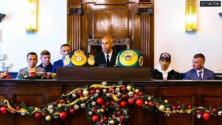 Channel 5 boxing FULL PRESS CONFERENCE: Dilmaghani vs Fonseca   Hennessy Sports