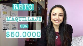 RETO  MAQUILLAJE CON 50.000 PESOS - GELA