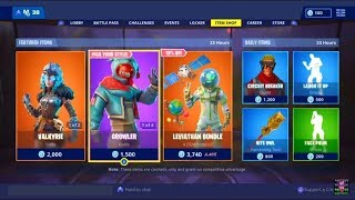 * Nuevo* GROWLER SKIN BUNDLE EN EL SHOP DE TEMA!!! (FORTNITE BATTLE ROYALE)