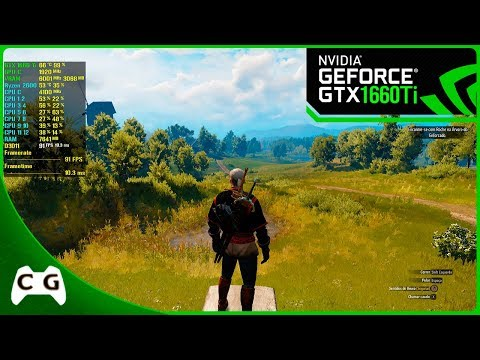 The Witcher 3 Mod HD Reworked Project 10 - Gráficos Lindos Na GTX 1660 Ti - 1080p #15