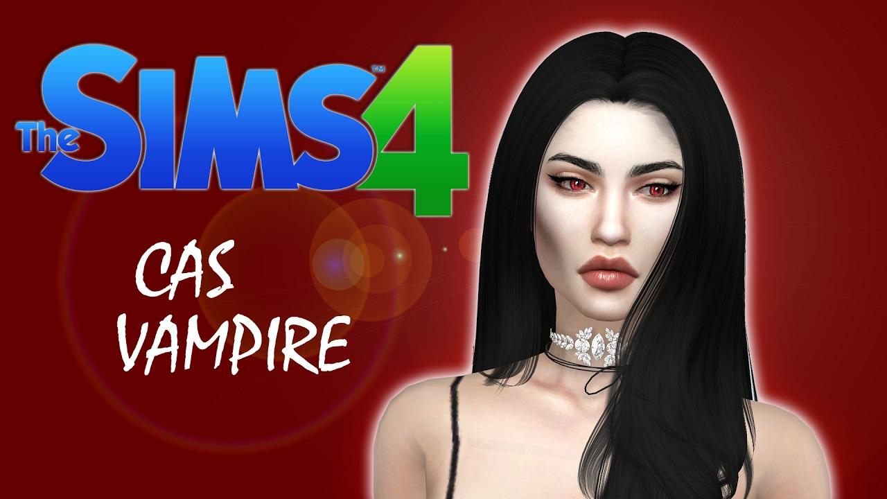 how to make my sim a vampire