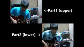 """I tried guitar-choir-solo cover from """"Twilight Zone"""", the killer tu..."""