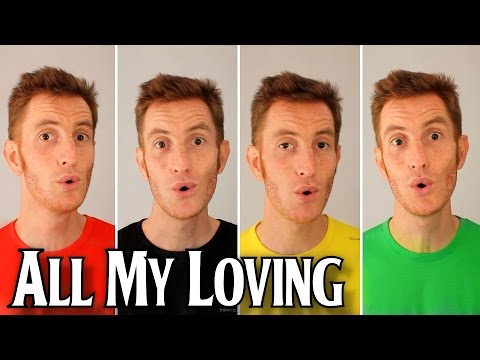 All My Loving (The Beatles) - A Cappella Barbershop Quartet - Julien Neel