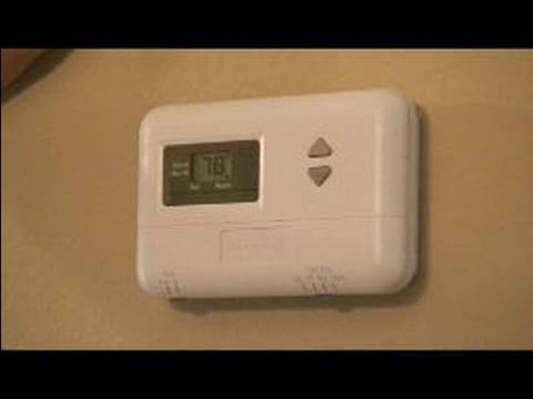 Using Household Electronics Setting Your Thermostat