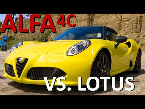 Alfa Romeo 4C | The Angry, Unpredictable Lotus Elise | Reviewed and Compared