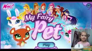 Letsplay Winx My Fairy Pet  Играем с Яжевичкой в Винкс Питомцы