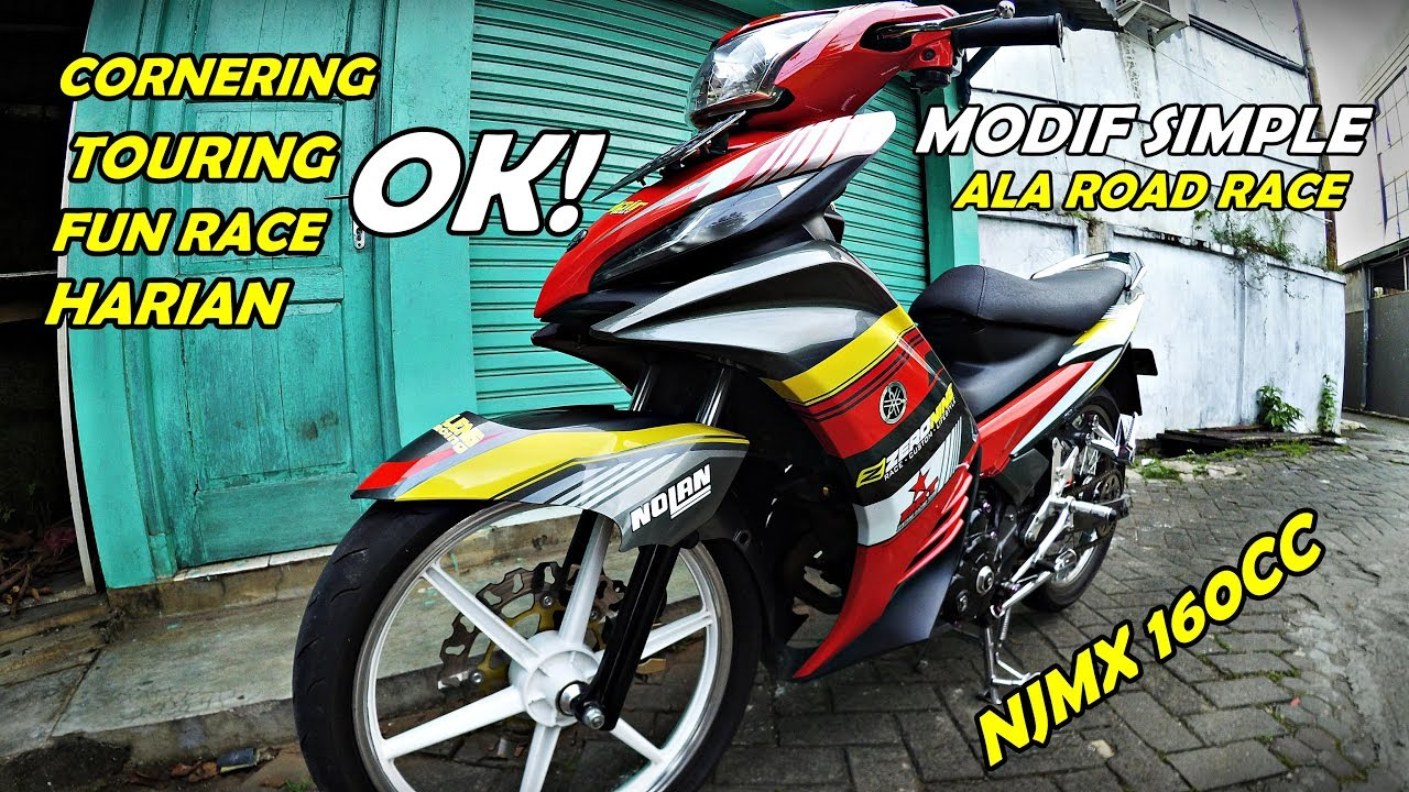 Road Race Style Jupiter Mx 160cc Modif Simple Njmx Youtube
