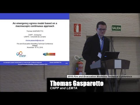 An Emergency Egress Model Based On A Macroscopic Continuous Approach