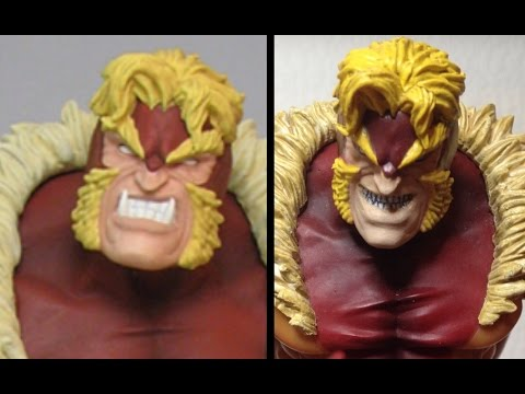 How to Resculpt and Paint Action Figure Heads - Marvel Select Sabretooth