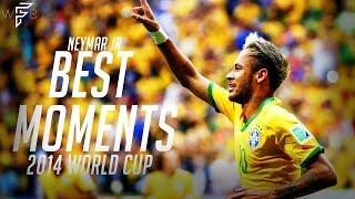 Neymar Jr - Best Moments - 2014 World Cup | 4K
