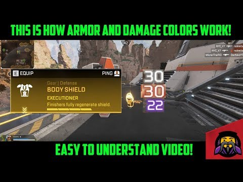How Does Apex Legends Armor & Damage Colors Work? | Easy to Understand