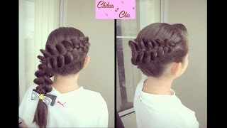 Trenza Diagonal Invertida Perfecta!! | Chikas Chic