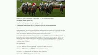 Cheltenham offer  2017 WOW 17 Winners!!