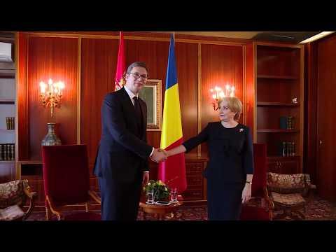 3/8/18 : Primirea președintelui Republicii Serbia, Aleksandar Vučić