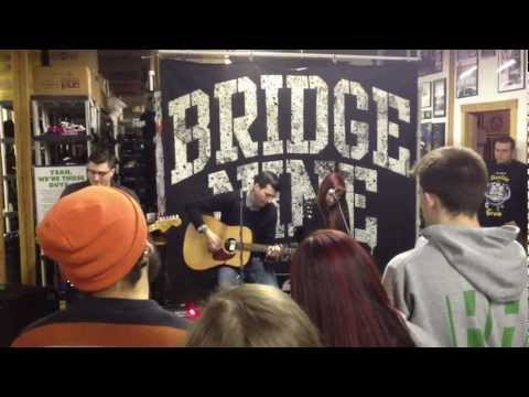 "Alcoa ""I Don't Feel Welcome Here Anymore"" Live @ the Bridge Nine Office"