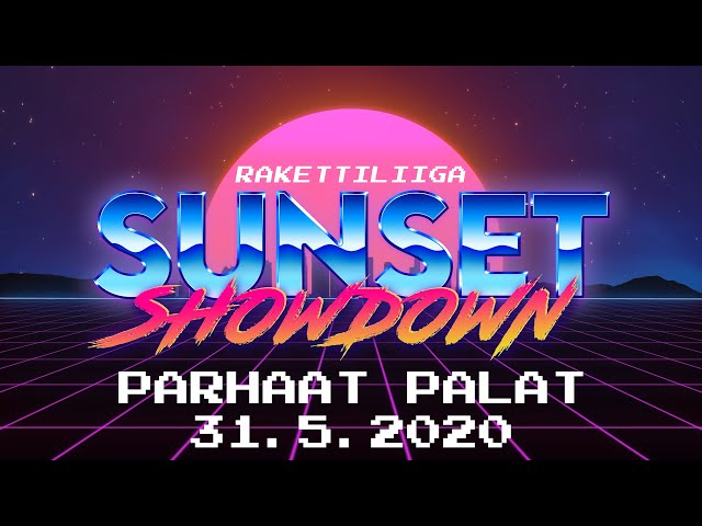 Rakettiliiga Sunset Showdown parhaat palat