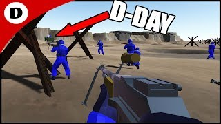Storm The Beaches Ravenfield Gameplay New Omaha Beach Map