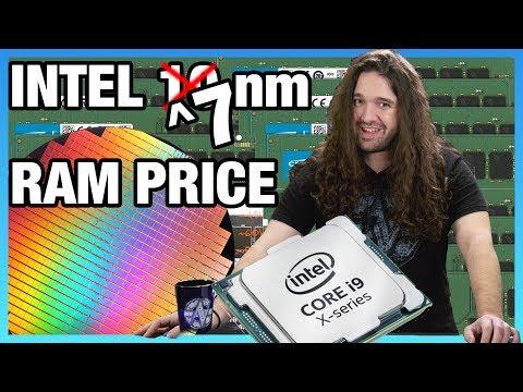 HW News - Intel 7nm EUV CPUs, Memory Prices Drop for 2019