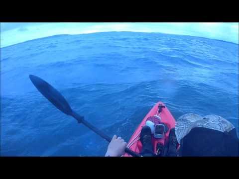 Bluefin Kayak Rough Water Test