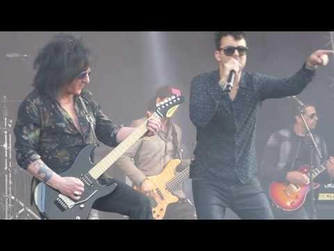 Steve Stevens & Band feat. Franky Perez - Rebel Yell  (Live) @ Musikmesse Frankfurt 08.04.17