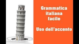 Repeat youtube video Grammatica italiana - Uso dell'accento nell'italiano