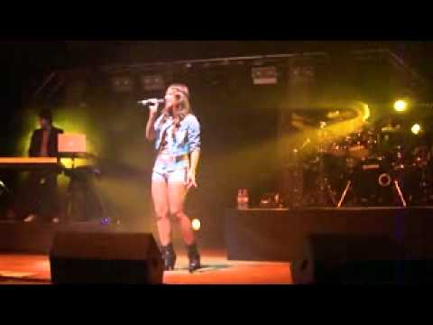 Sarah Engels  mit Call my name in Cottbus