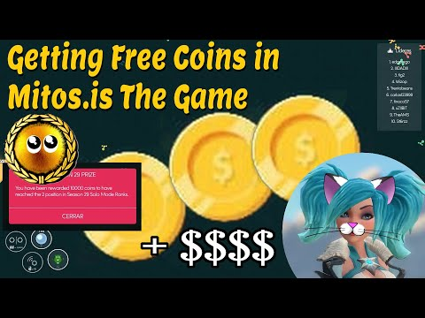 Asmie The Cat Girl: Getting Free Coins In Mitos.is The Game