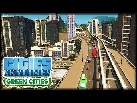 Meine Büro Insel   Cities: Skylines S3 #06