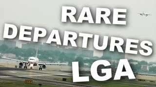 *RARE* Runway Departures at La-Guardia Airport