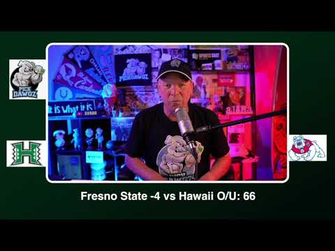 Fresno State vs Hawaii Free College Football Picks and Predictions CFB Tips Saturday 10/24/20