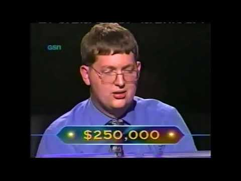 Who Wants to be a Millionaire November 1999 highlights