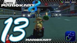 MARIO KART 8 Walkthrough - Part 13 - Single Player, Grand Prix, 100cc, Shell Cup