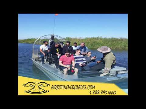 Airboat In Everglades - Promo 2019