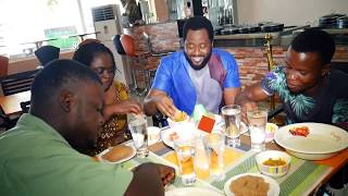 9ja Celebrity chef with Hon. Desmond Elliot