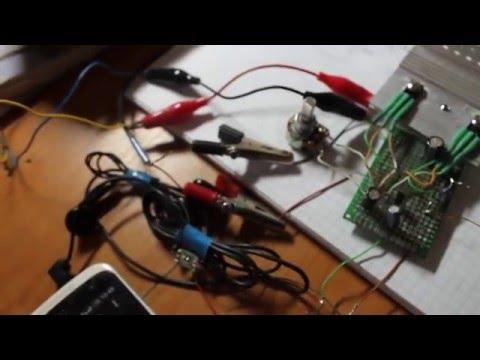 Усилитель на трех транзисторах