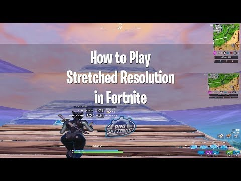Fortnite How to Stretch Resolution after patch 8.30