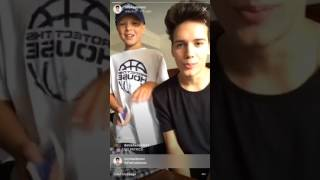 Michael Conor Instagram Live (08.02.17) ABC Boy Band
