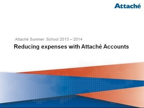 Reducing Expenses with Attaché Accounts