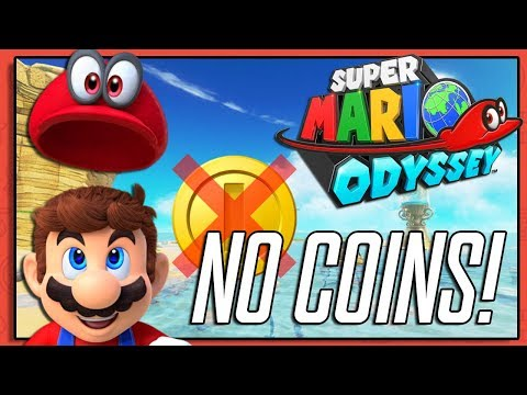 BEAT THE GAME WITH NO COINS | Super Mario Odyssey